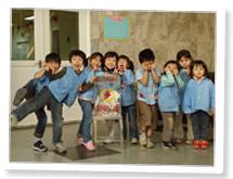 中国・天津、九河あおぞら幼稚園 写真その5