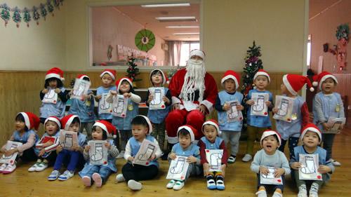 サンタさんが幼稚園にやってきた! 写真 その6