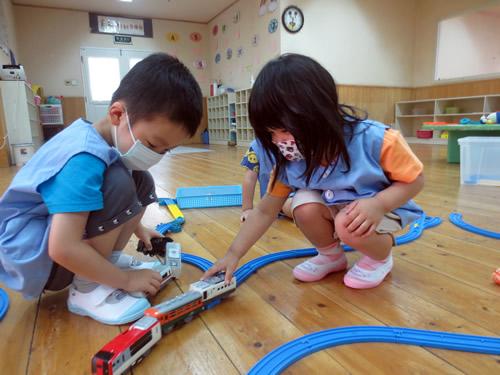 6月、幼稚園が再開しました! 写真 その1