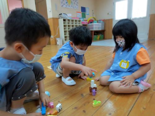 6月、幼稚園が再開しました! 写真 その2
