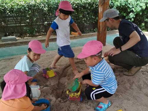 天津Kidsの7月の様子 写真 その8