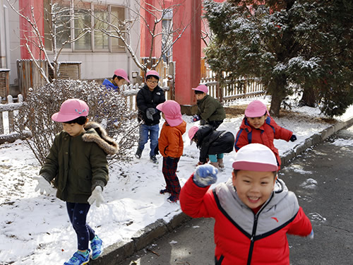 3月の天津Kidsの様子 写真 その1