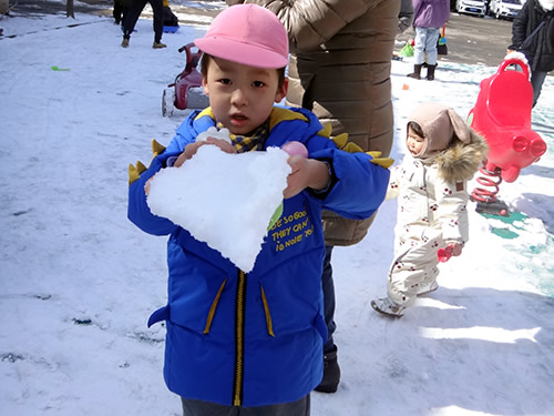 3月の天津Kidsの様子 写真 その2