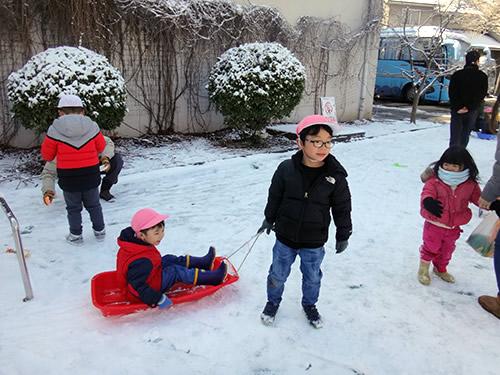 3月の天津Kidsの様子 写真 その3