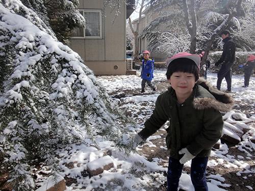 3月の天津Kidsの様子 写真 その4