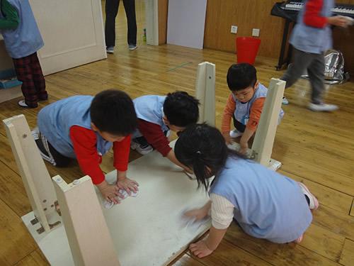 3月の天津Kidsの様子 写真 その8