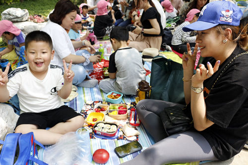 5月の天津Kidsの様子 写真 その13